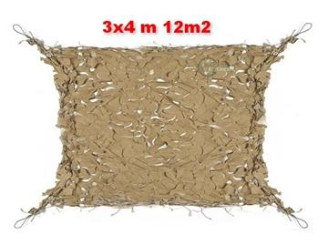 Εικόνα της Coyote Δίχτυα Σκίασης 3x4 m με αρτάνι και συρματόσκοινο περιμετρικά