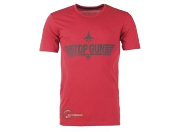 Εικόνα της Μπλούζα Mil-Tec T-shirt Top Gun Κόκκινο