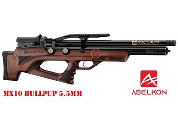 Εικόνα της Προσυμπιεσμένο Αεροβόλο Τυφέκιο Aselkon MX10 BullPup PCP Wood 5.5mm