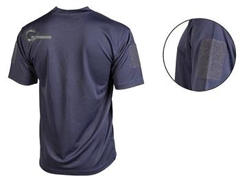 Εικόνα της Μπλουζάκι T-Shirt Αντιιδρωτικό Mil-Tec QuickDry Μπλε Σκούρο