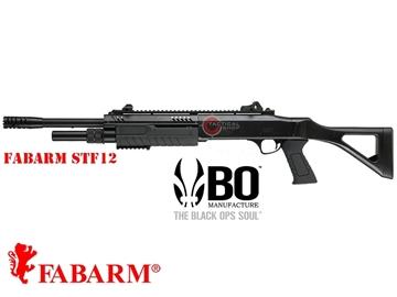 """Εικόνα της Καραμπίνα Ελατηρίου Fabarm STF12 18"""" Airsoft Shotgun 6mm Black"""