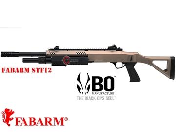 """Εικόνα της Καραμπίνα Ελατηρίου Fabarm STF12 18"""" Airsoft Shotgun 6mm FDE"""