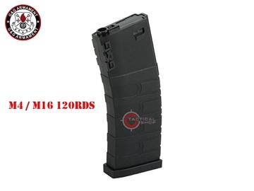 Εικόνα της Γεμιστήρας M4 / M16 MidCap G&G Armament GR16 120rds Black