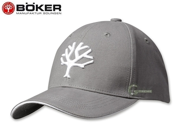 Εικόνα της Καπέλο Jockey Boker Cap Grey & White
