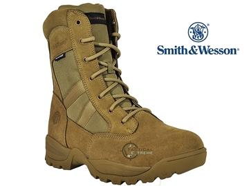 """Εικόνα της Άρβυλα Με Φερμουάρ Smith & Wesson® Breach 2.0 8"""" Coyote"""