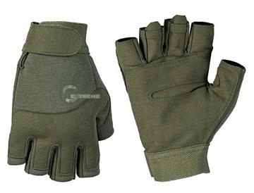 Εικόνα της Γάντια Κοφτά Army Fingerless Χακί