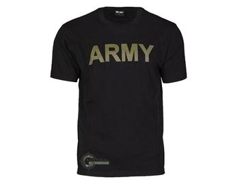 Εικόνα της Μπλούζα Mil-Tec T-shirt Army Μαύρη