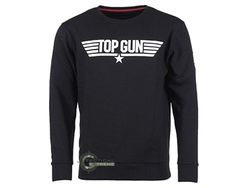 Εικόνα της Μπλούζα Μαύρη Top Gun Sweatshirt