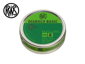 Εικόνα της Βολίδες Αεροβόλου RWS Diabolo Basic 4.5mm