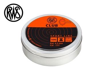 Εικόνα της Βολίδες Αεροβόλου RWS Diabolo Club 4.5mm