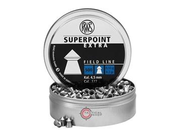 Εικόνα της Βολίδες Αεροβόλου RWS Diabolo Superpoint Extra 4.50mm