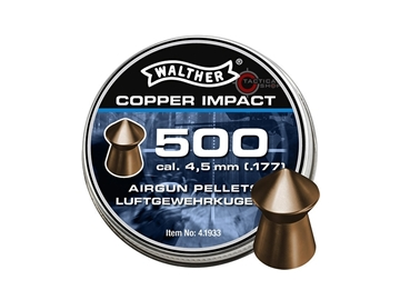 Εικόνα της Βολίδες Αεροβόλου Walther Copper Impact 4.50mm