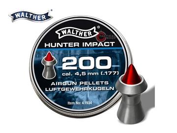 Εικόνα της Βολίδες Αεροβόλου Walther Hunter Impact 4.50mm