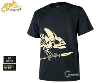 Εικόνα της T-shirt Μπλούζα Helikon Full Body Skeleton Black