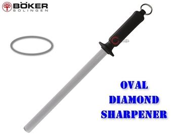 Εικόνα της Ακονιστήρι Μασάτι Diamond Oval Shaped Boker Solingen