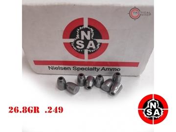Εικόνα της Slugs Για Αεροβόλα Nielsen 6.35mm 26.8 grains (.249)