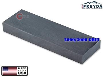 Εικόνα της Πέτρα Ακονίσματος 2000/3000 grit Bench Stone Hard Black Arkansas RH Preyda