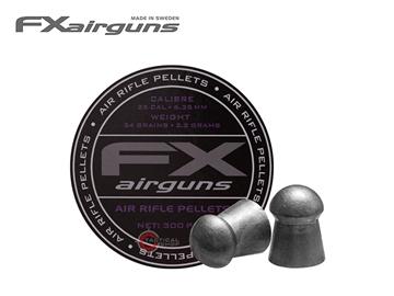 Εικόνα της Βολίδες Αεροβόλου Fx Airguns Domed 34gr 6.35mm