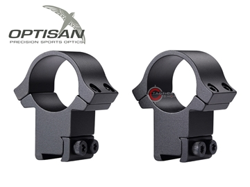 Εικόνα της Δακτύλιοι Διόπτρας Optisan EVM 25.4mm Medium Profile Dovetail 11mm