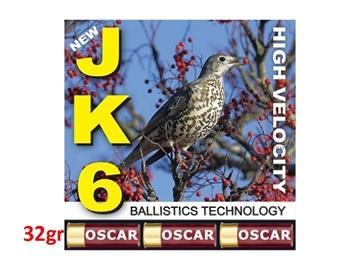 Εικόνα της Φυσίγγια Oscar JK6 32gr