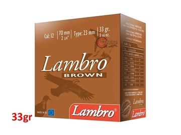 Εικόνα της Φυσίγγια Lambro Καφέ 33gr